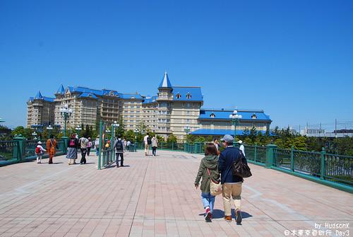 迪士尼飯店看起來頗美