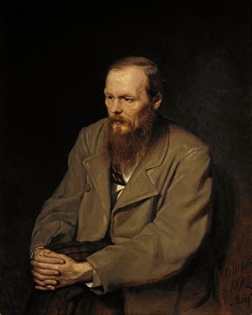 Retrato de Fiódor Dostoiévski por Vassili Perov, 1872