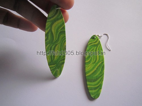 Handmade Jewelry - Card Paper Earrings  (Album 3) (8) by fah2305
