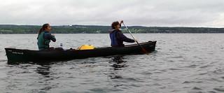 paddling cayuga lake