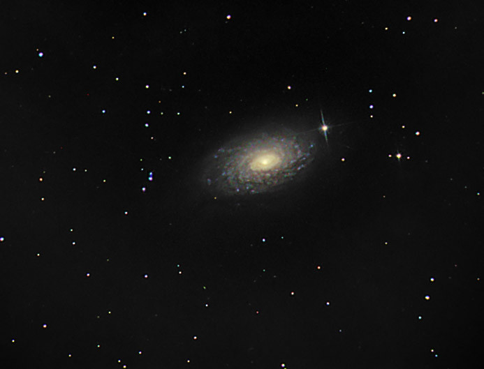 m63 | M63, Orion Starshoot G3 mono  1/2 hour red, green and