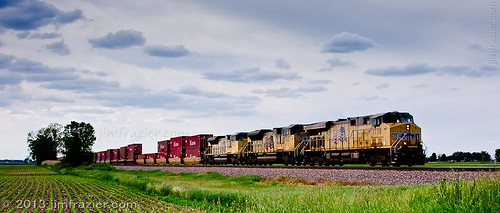 railroad summer sky up june yellow metal clouds landscape illinois corn highway scenery mechanical diesel farm farming scenic railway sunny trains heavymetal f10 il equipment business machinery engines transportation lincoln fields unionpacific heavyequipment machines agriculture railways freight noisy apparatus locomotives agricultural railroads devices lincolnhighway f20 maplepark q4 dieselelectric 2013 gloriousnoise armouryellow unionpacificrailroadcompany ldjune ©jimfraziercom wmembed ld2013 fastpictures