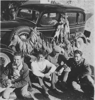 Morocco, 1930s, back from the hunt