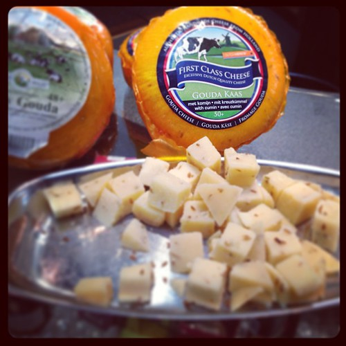 Nothing beats a round of #dutch #cheese , especially if it is #cumin#cheese! Lekker...,meaning delicious