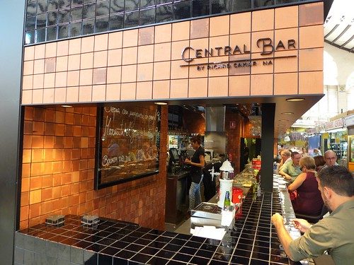 Bar central market Valencia