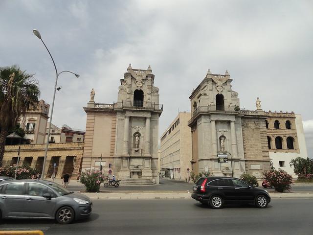 Porta Felice, Palermo, Sicily, Italy