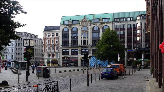 Gänsemarkt in Hamburg