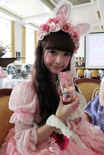 Misako with Candy