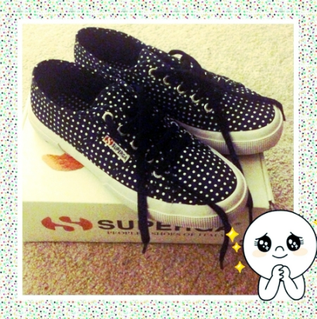 Superga with dots