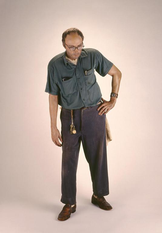 Duane Hanson, Janitor, 1973