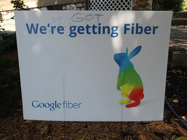 We're Getting / Got Google Fiber