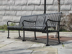 Bench along the Canal Walk