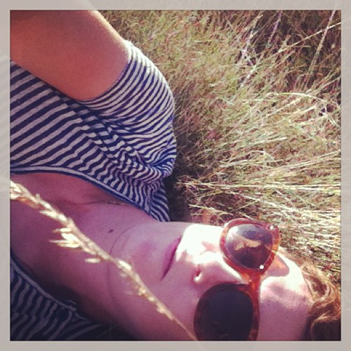 #TeenagedSelfie 8: I lay down in the grass and wonder why you brought me here