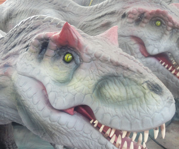Animatronic Eyes of Dinosaur Robot