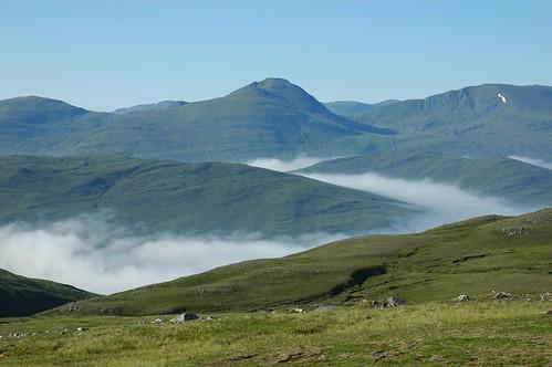Glen Cannich hills