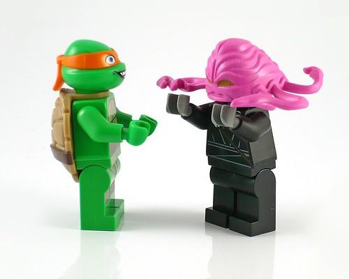 Nickelodeon Teenage Mutant Ninja Turtles LEGO 79100 Kraang Lab Escape 09