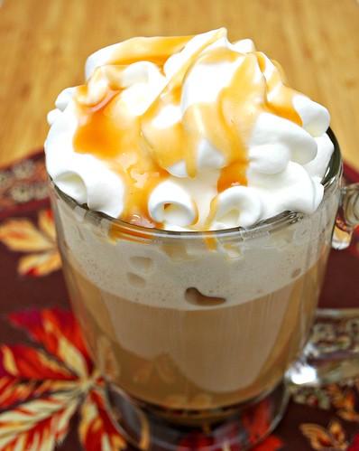 Kahlúa Caramel Pumpkin Spice Latte