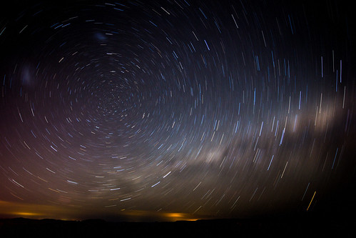Star trails #3 : The Milky Way