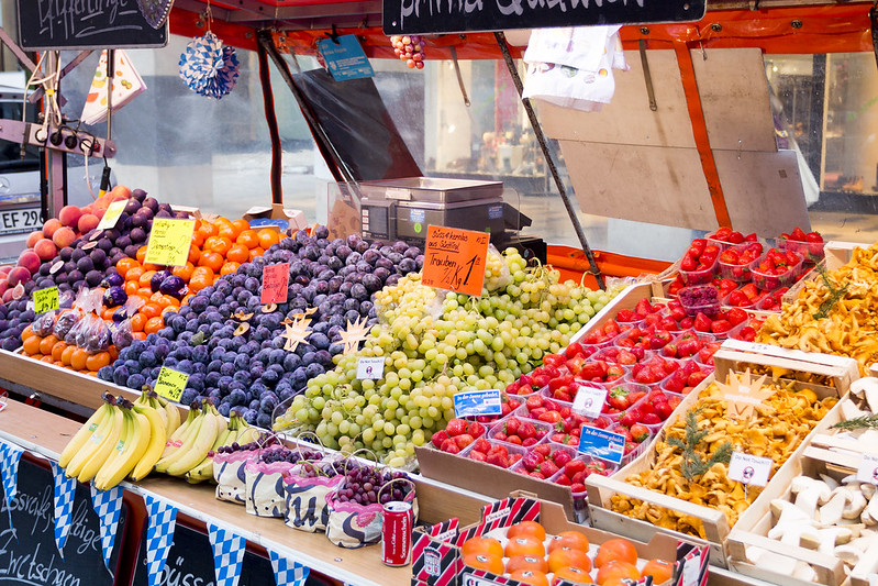 Fruit stall - Munich, Germany