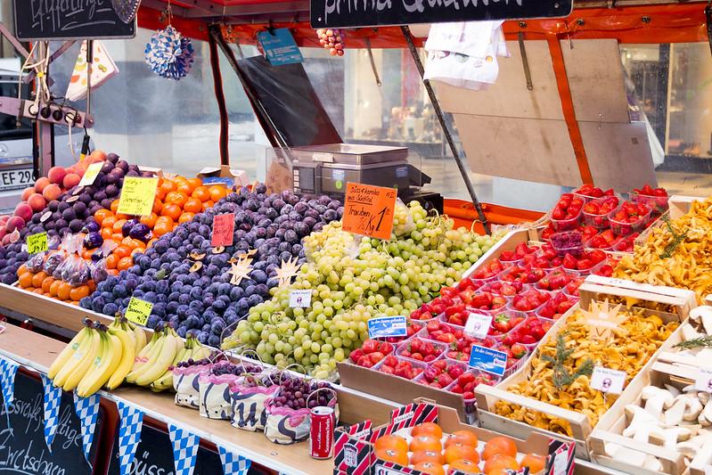 Fruit stall - Munich, Germany