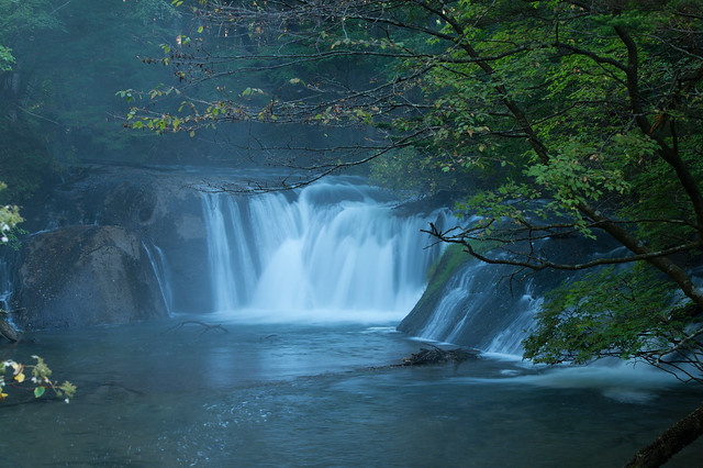 A waterfall in Yukawa