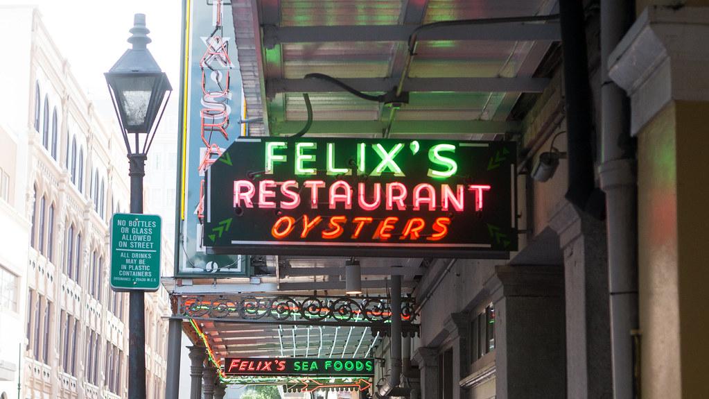 Felix S Restaurant Oyster Bar New Orleans La