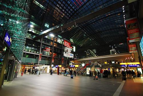 Berlin - Main entrance of Berlin Central Station(ベルリン中央駅メインエントランス)