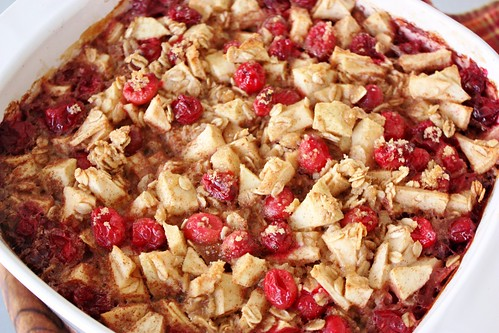 cranberry-apple-cinnamon-baked-oatmeal