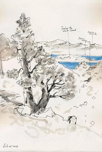 Oct 2013: Yosemite Trip - View at Mono Lake