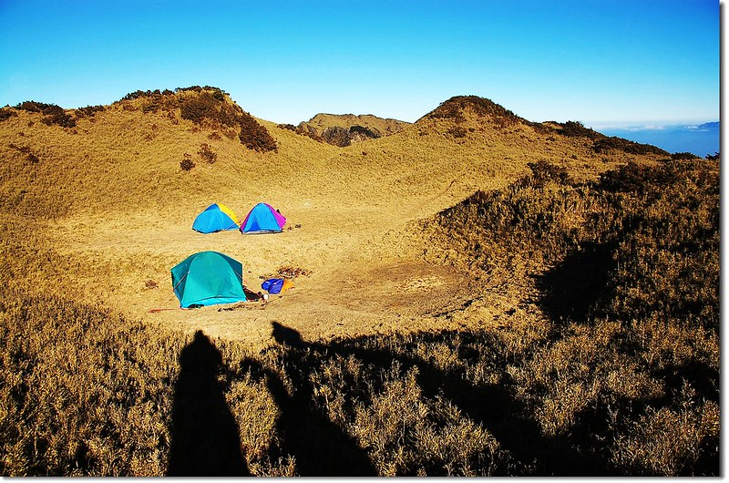 三叉峰營地之晨 2