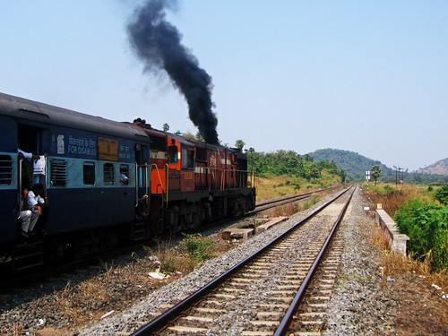 Diesel engine departure!