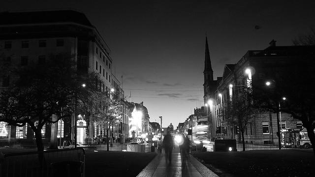 George Street, dusk
