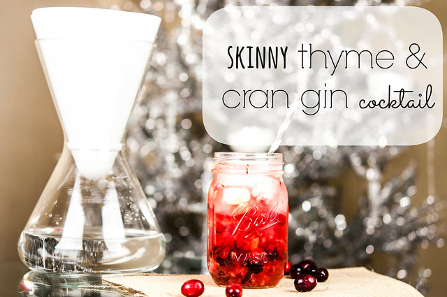 skinny cran gin cocktail in_the_know_mom