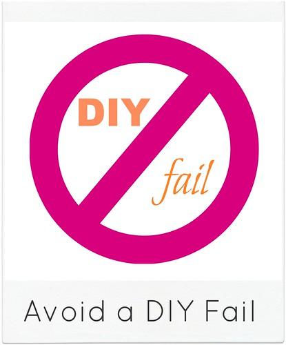 how to avoid a diy project fail