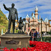 Disneyland Dec 2012 - Christmas in Central Plaza by PeterPanFan