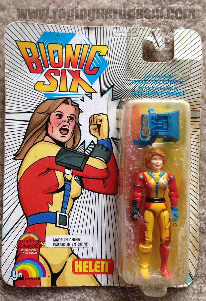 LJN Bionic Six Figure Helen