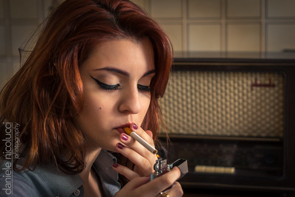 Redhead smoking cigerette pic gallery consider, what