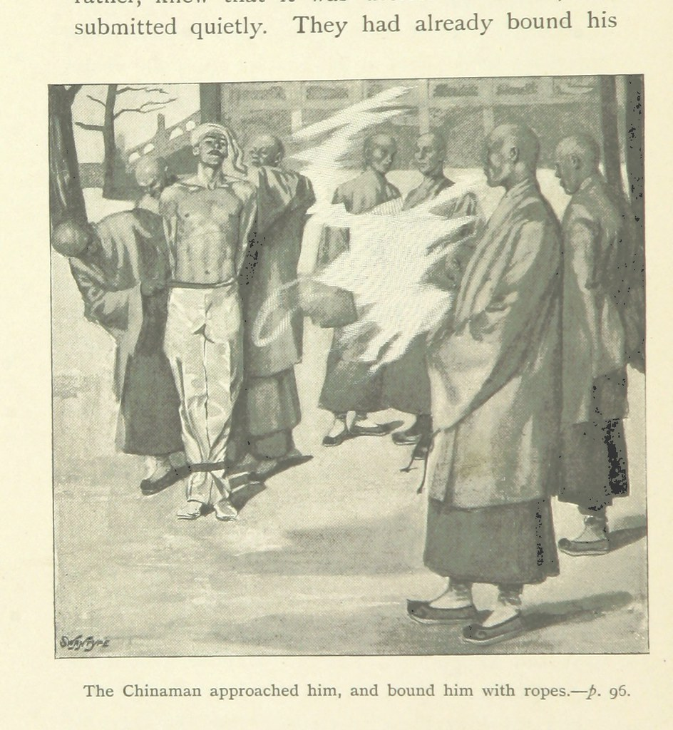 Image taken from page 100 of 'The Captive of Pekin; or, A Swallow's Wing, etc'