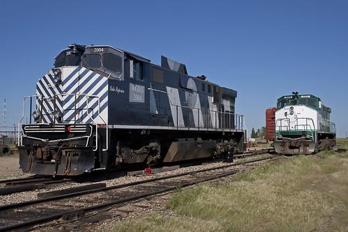 railroad canada diesel railway canadian sk saskatchewan alco mlw greatwestern m420