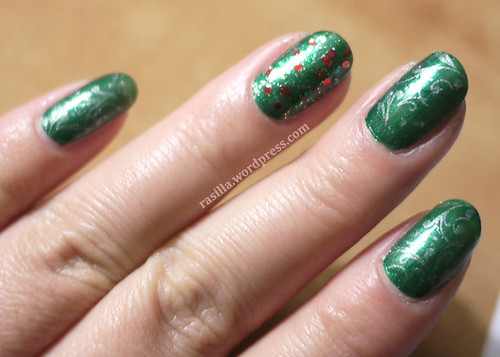 Holiday Nails Stamp Happy