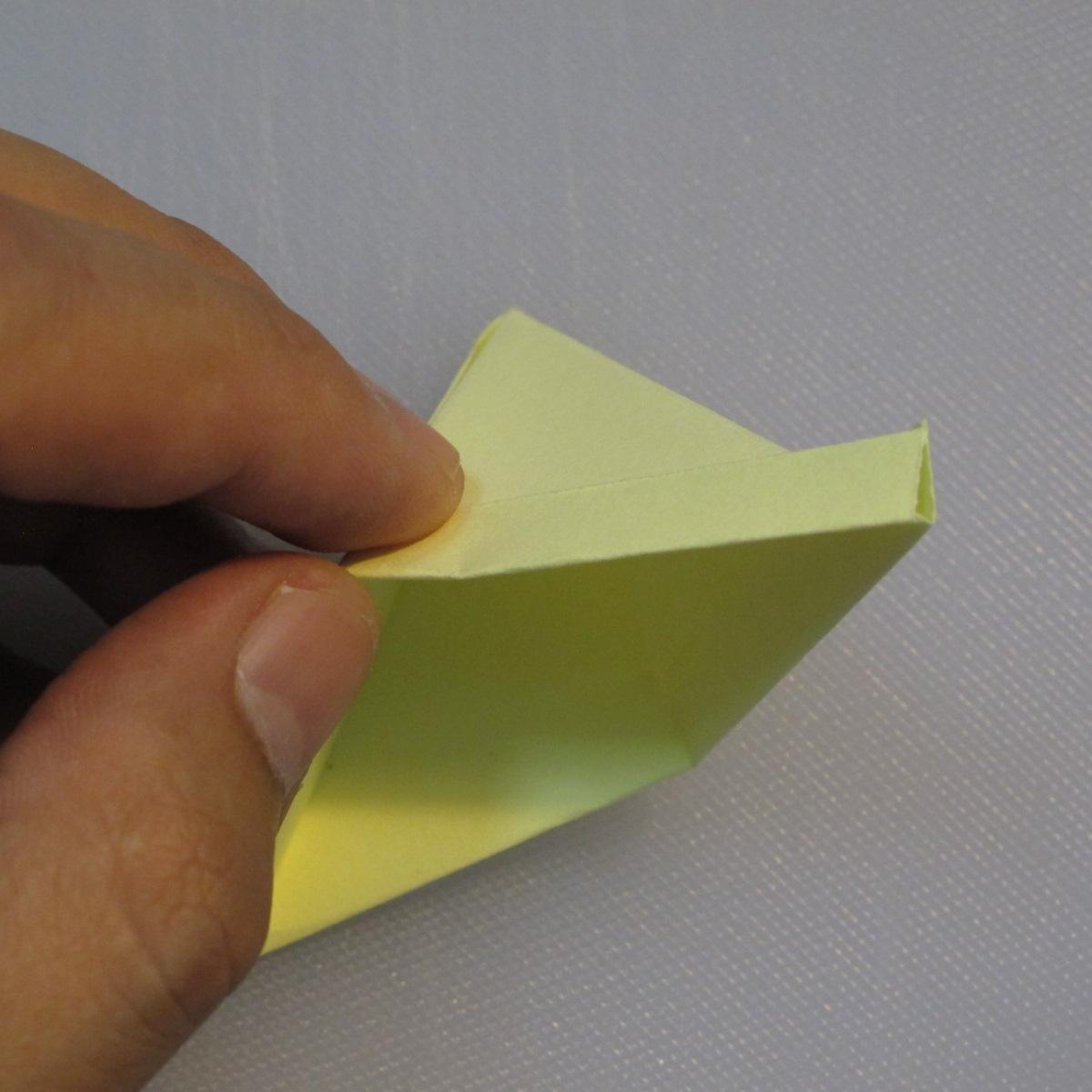 การพับกระดาษเป็นรูปเรือใบ (Origami Boat – 船の折り紙) 005