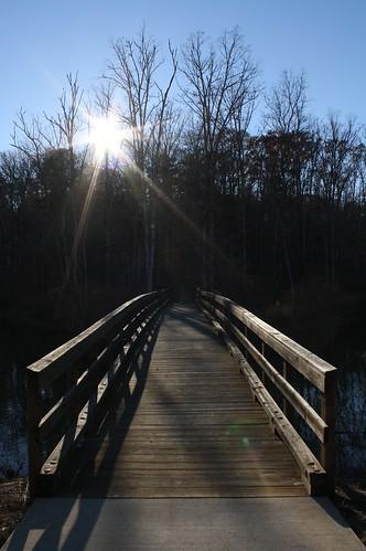 bridge atlanta sunset sun fall nature public set georgia foot footbridge dusk greensboro tjean314 johnhanley 2013 allphotoscopy20052015johnhanleyallrightsreservedcontactforpermissiontouse allphotoscopy20052016johnhanleyallrightsreservedcontactforpermissiontouse