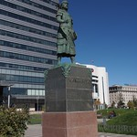 Marco Polo Statue