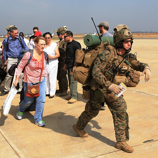 Marines evacuate embassy in South Sudan [Image 18 of 23]