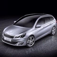 race car(0.0), executive car(0.0), automobile(1.0), automotive exterior(1.0), peugeot(1.0), peugeot 308(1.0), family car(1.0), wheel(1.0), vehicle(1.0), automotive design(1.0), mid-size car(1.0), bumper(1.0), land vehicle(1.0),