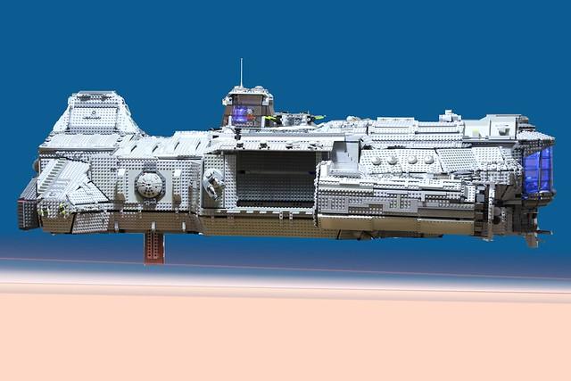 Lego Stargate Atlantis Aurora 16