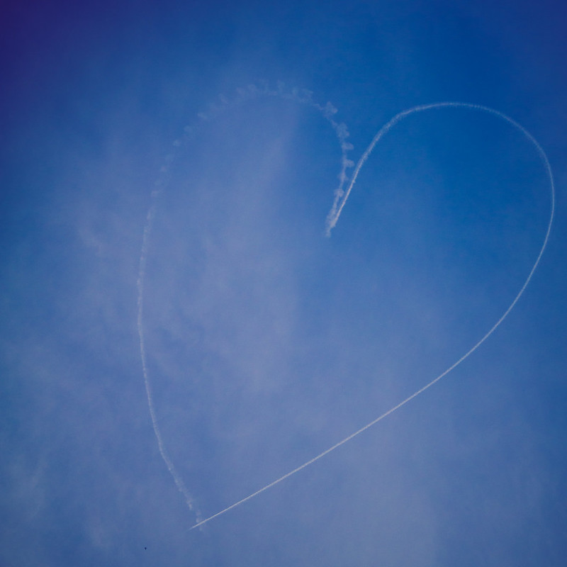 Heart Skywriting