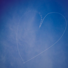 Heart Skywriting