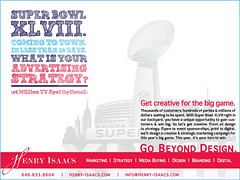 Super Bowl | Advertising & Design