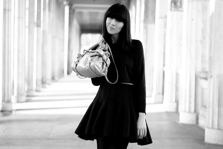 OUtfit H&M Miu Miu Topshop all black Michalsky StyleNite look CATS & DOGS fashion blog from berlin 3